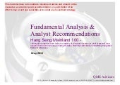 Fundamental Equity Analysis & Recom...