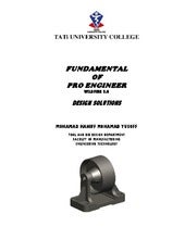 Fundamental pro engineer