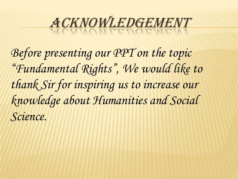 Indian Constitution Fundamental Rights Fundamental Rights of Indian