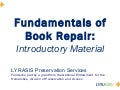 Fundamentals of Book Repair