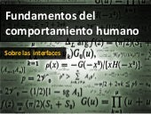 Fundamentos del comportamiento humano - Fitts, Hick, Paretto, Goms, Miller