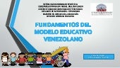 Fundamentos del modelo educativo ve...