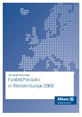 Funded Pensions In Western Europe 2008