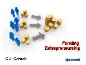 Funding entrepreneurship cj cornell...