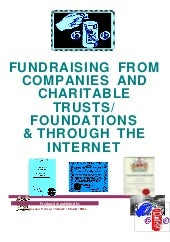 Fundraising from Companies and Char...