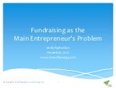 Fundraising as Main Problem for Ent...
