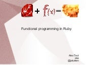 Functional Programming in Ruby