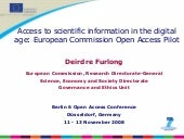 Berlin 6 Open Access Conference: De...