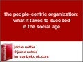 The People-Centric Organization