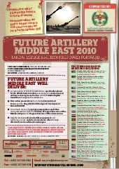 Future artillery middle east 2010 u...
