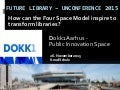 Thessaloniki Future library Conference - 4 space inspiration 27. november 2015