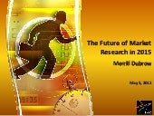 The Future of Market Research