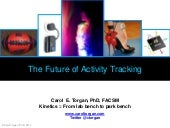 The Future of Activity Tracking