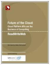 Future of the Cloud: Cloud Platform...