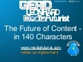 The Future of Content in 140 Characters (140Conf London)