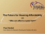 Future of Affordable Housing