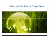 Future of the Indian power sector