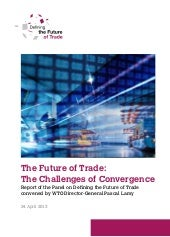 WTO Report - The Future of Trade: T...
