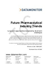 Future Pharma Trends - Long-term op...