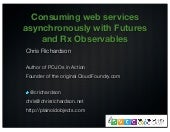 Consuming web services asynchronous...