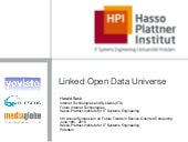Linked Data Universe - Large Scale ...