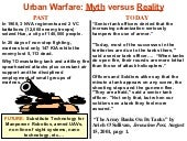 Future Urban Warfare Weaponry v3.0
