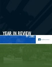 MassDevelopment FY2001 Annual Report