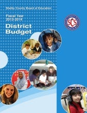 Proposed budget for 2013-14 for mer...