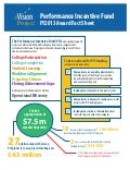 FY2013 Performance Incentive Fund Fact Sheet