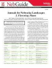 Annuals for Nebraska Landscapes - U...