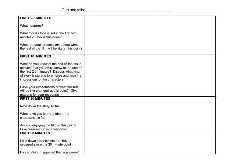 Worksheets Film Analysis Worksheet g321 film analysis worksheet