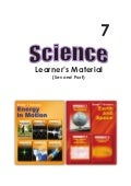 G7 science student modules  3rd & 4th qrtr