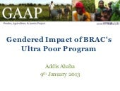 BRAC GAAP Presentation January 2013