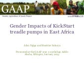 Kickstart GAAP Presentation January 2013