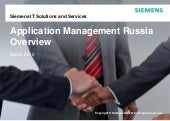 Russia - Application Management