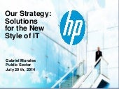 HP solutions for the New Style of IT
