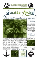 Gaceta animal