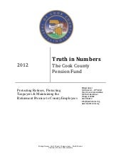 """Truth In Numbers"" Report: Cook Cou..."