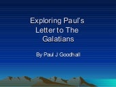 Galatians.Ppt Chapter 1.