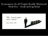 Economics as if People Really Matte...