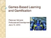 David W. Deeds: Game-Based Learning...