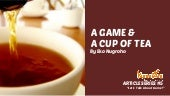 A game and a cup of tea