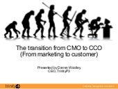 Game Changers - The transition of the CMO to the CCO