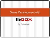 Game development with_lib_gdx