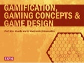 Gamification, Gaming Concepts & Gam...