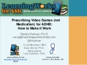 Prescribing Video Games (not Medica...