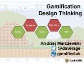 Gamification design thinking