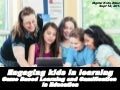 Engaging Kids in Learning: game based learning and gamification in education