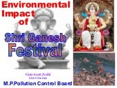 Environmental impact of Ganesh fest...