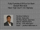 Fully Furnished Office for Rent@ Ga...